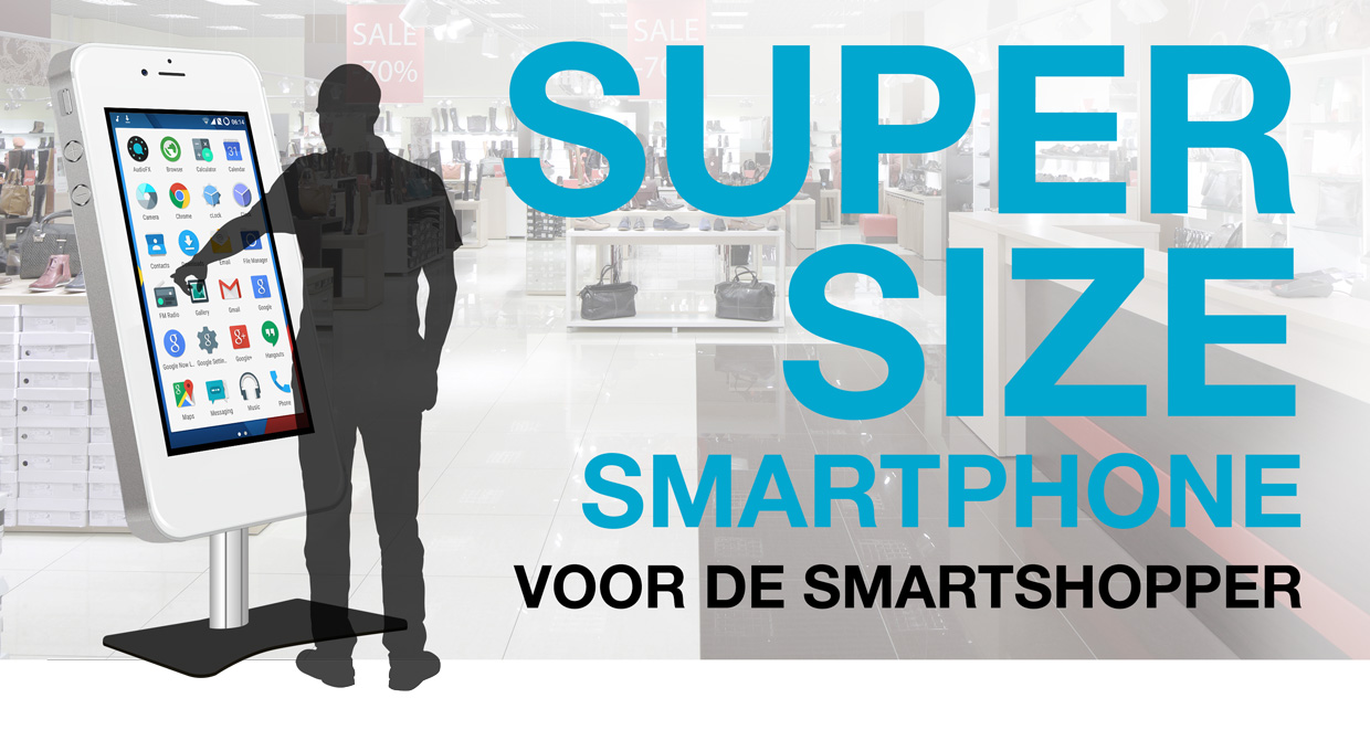 Supersize Smartphone Co-Creatie Buro
